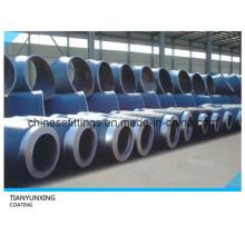 3PE Beschichtung API 5L Pipeline Stahl Fittings Tee