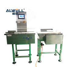 500g Automatic conveyor checkweigher machine with rejection
