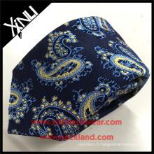 Cravate classique faite sur commande de soie de Paisley d'hommes de la mode faite sur commande de 100% Quoi de nouveau 2017