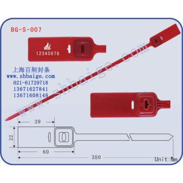 Пластиковый мешок уплотнения BG-S-007