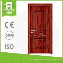 Puerta corrediza de madera con nuevo diseño de puerta de entrada para proyecto de construcción de china