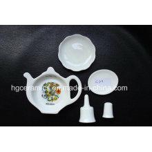 Artículo de recuerdo de porcelana fina, regalo de cerámica