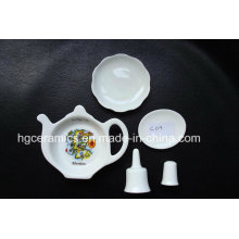 Objet de souvenir en porcelaine fine, cadeau en céramique