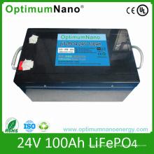 Paquets rechargeables de la batterie LiFePO4 de 24V 60ah pour le système d'énergie solaire