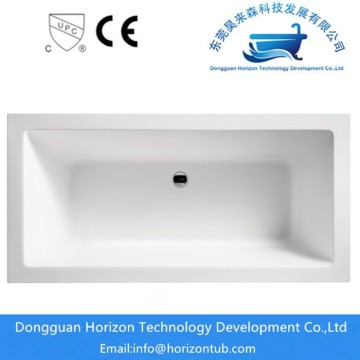 Bañera rectangular independiente para ducha