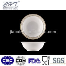 H006 Hot sale decorative china porcelain salad bowl