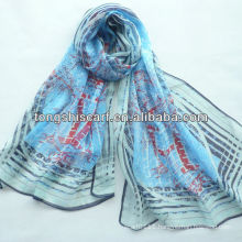 SD319-123 fashion silk organza scarf