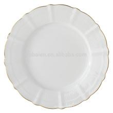 Plaques de dessert en céramique en porc