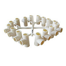 PVC Fittings 16 Cavities TEE
