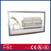 A0 led poster frame slim light box with snap open aluminum profile