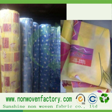 Non Woven Fabric Stamp Textile Table Cloth