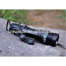 Taktische Taschenlampe, taktische LED-Taschenlampe, helle taktische Taschenlampe