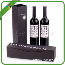 Matt Black Wine Box for High Capacity Paper Wine Box