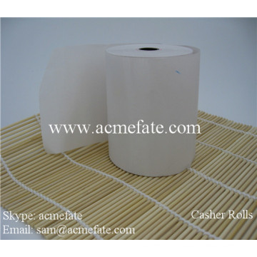 Cash Register Paper Logo imprimé Pos Atm Machine Paper Roll 80x80