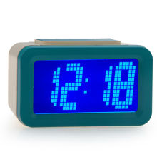 Desktop digital clock with big led display ABS frame