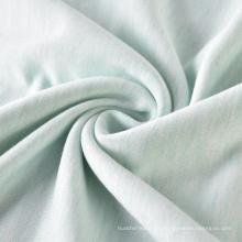 Tejido de felpa de tejido de viscosa 100% deportivo de punto suave