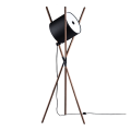 Wooden LED Floor Lamp