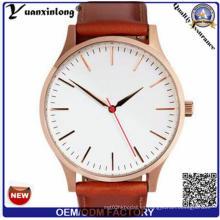 Yxl-932 Los hombres superiores de la marca de fábrica miran el reloj femenino del reloj del cuarzo del reloj de la manera del reloj de lujo Relojes Masculino