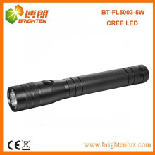 Factory Bulk Sale CE ROHS High Lumen C cell Dry Battery Powered Metal 5W LED Cree Flashlight Review