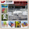 China supplier production dining table and chair mould OEM Custom plastic injection dining table and chair mold
