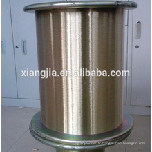 Fil d'acier à haute teneur en carbone enduit de cuivre pour la fabrication de brosse