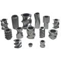plc control single screw plastic extruder