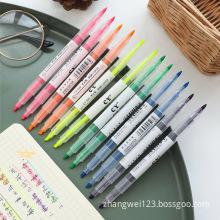 Double-headed marker&highlighter nite writer pen