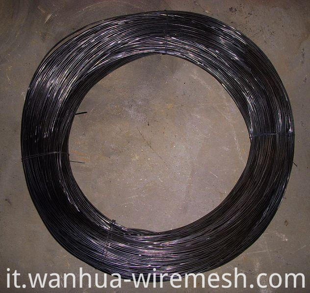 1.24mm Double soft Black Annealed Twisted wire