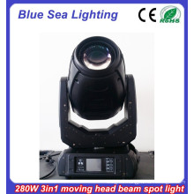 best quality China 2015 beam spot 10r 280 sharpy beam light