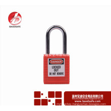 Wenzhou BAODSAFE Steel Xenoy Safety Padlock Lock BDS-S8601B red