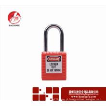 Wenzhou BAODI Steel Xenoy Bloqueio cadeado de segurança BDS-S8601B vermelho
