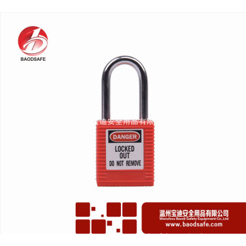 Wenzhou BAODI Steel Xenoy Verrouillage de cadenas de sécurité BDS-S8601B rouge
