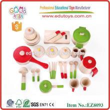 Kinder spielen Kinderspielzeug Holzküchen Sets Spielzeug
