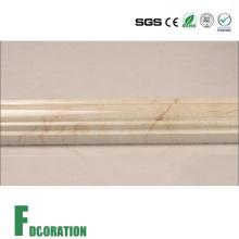 Qualität bunte künstliche Faux Marmor Steinleiste Grenze Sockelleiste