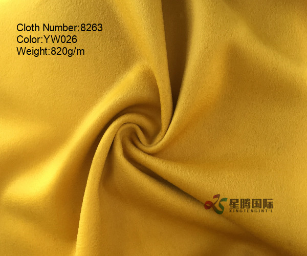 Water-wave 100% Wool Fabric High Quality