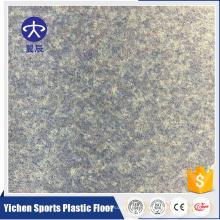 homogener Vinylboden des Krankenhauses interaktiver PVC-Bodenlattenboden