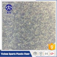 suelo de vinilo homogéneo del hospital piso de slatted interactivo del piso del PVC