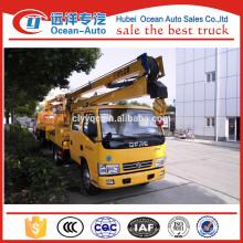 Dongfeng 16 metros hidráulico camión de trabajo aéreo
