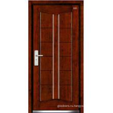 Стальные деревянные двери (LT-307)