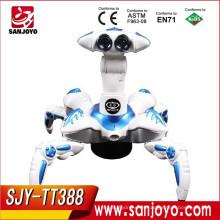 Robot real de animales de RC multivelocidad con acciones increíbles Robot robot de animales de infrarrojos Robot de control de radio RC SJY-TT388