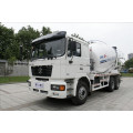 Shacman 340hp cement mixer with weichai engine 6x4 concrete mixer truck