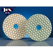80-100mm Plaques de polissage au diamant pour polir