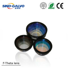 HOT sale F-theta Lens 650nm wavelength for CO2 laser marking machine