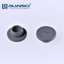 Tapón de inyección farmacéutico de 20 mm de septos de butilo gris