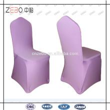 Heißer Verkauf preiswertester und praktischer Spandex-Gewebe verwendete Bankett-Stuhl-Abdeckungen
