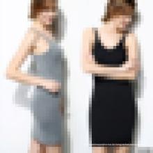 Frauen Seamless Camisole Slip Kleid - Long Spaghetti Strap