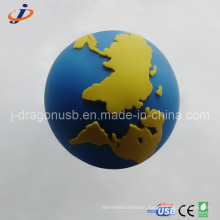 Custom PVC 3D Globe USB Flash Drive