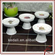 Mini bolo de bolo de cerâmica