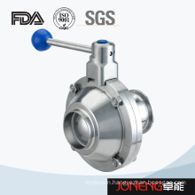 Stainless Steel Butterfly Type Ball Valve Welded/Clamped (JN-BLV1014)