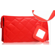 Red toilet bag for ladies